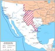 Mexican-American War Map - Bing Images