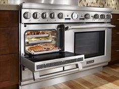 Professional Range with Steam & Convection Oven