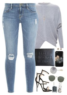 """sorry for my set delay"" by daisym0nste ❤ liked on Polyvore featuring STELLA McCARTNEY, Frame Denim, Miss Selfridge, Marc by Marc Jacobs, Giuseppe Zanotti, Ray-Ban, Essie, Free People, women's clothing and women"