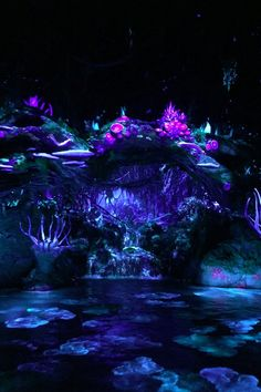 Even If Your Little Ones Haven't Seen Avatar, They'll Love This Pandora Ride Fantasy Artwork, Fantasy Art Landscapes, Fantasy Landscape, Beautiful Landscapes, Scenery Wallpaper, Galaxy Wallpaper, Wallpaper Backgrounds, Fantasy Places, Fantasy World