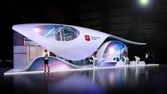 Moscow, Cebit 2019 on Behance Exhibition Stall Design, Exhibition Display, Public Architecture, Architecture Design, Exibition Design, Interactive Museum, Stand Design, Moscow, Design Projects