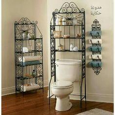 Bathroom Space Saver Over Toilet Storage Cabinet Organizer Shelves Metal  Rack #BathroomSpaceSaver | Design Inspiration | Pinterest | Metal Rack, ...