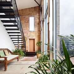 Dream Homes - Stunning House Designs, Interiors & Decor Grand Designs Australia, Celebrity Houses, Atrium, Home Projects, Interior Architecture, Interior Decorating, Around The Worlds, Real Estate, The Incredibles