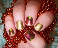 I am in love!!!! Hot Mess is to die for. I am so sad to say that it is going to be a short romance, as Hot Mess is going, going and will be gone Sept. 1st. Hurry and get your before they are gone at www.lorirarmstrong.jamberrynails.net