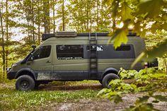 4x4 Camper Van, Off Road Camper, Bus Camper, Camper Life, Camper Trailers, Mercedes Sprinter Camper, Sprinter Van, Truck Camping, Van Camping