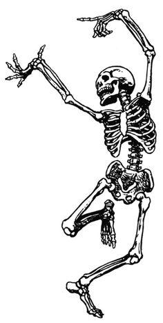dancing skeleton <3