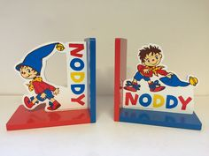 Noddy Character book ends