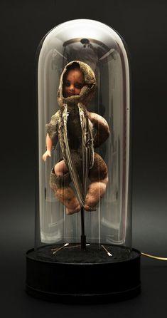 -Laurent Gauthier-  *Ces myriades d'objets.  'Chérubin'  (technique mixte. 2012)
