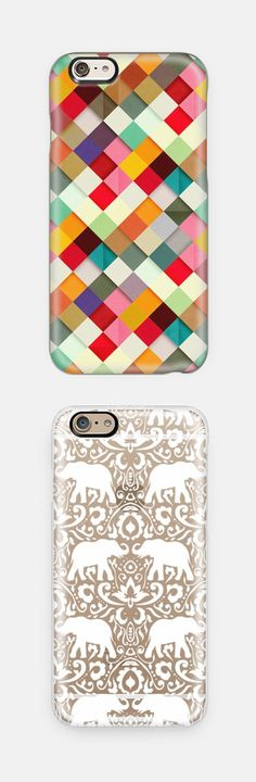 Patterned iPhone cases! Available for iPhone 6, iPhone 6 Plus, iPhone 5/5s, Samsung Cases and many more. Perfect Christmas gift idea