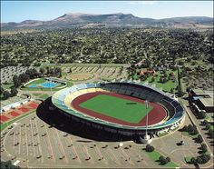 Rustenburg: Royal Bafokeng Stadium Once a simple platinum mining town now soon to be the base camp for the England national squad, Rustenburg has had a major facelift for this year's World Cup and so have surrounding attractions. Port Elizabeth, Cape Town, South African News, England National, Sports Stadium, Nail Biting, World 7, New Africa, Dreams