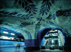 Underground Art, Stockholm, Sweden