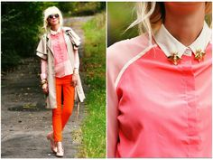 Watermelon Fall. (by Coury Combs) http://lookbook.nu/look/4080086-Watermelon-Fall