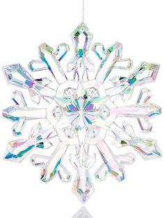 Holiday Lane Iridescent Snowflake Ornament