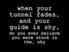 """""""Peephole - System Of A Down (lyrical video)"""" Don't you ever get stuck in the sky...!"""