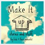 Make a comic book to help kids tell stories by Stumbles and Stitches for Make it up storytelling series on Buzzmills