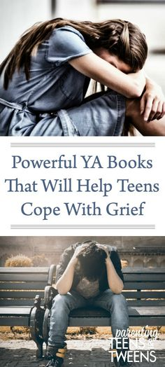 Grief can be a heavy burden for anyone who has lost a loved one. Parenting Articles, Parenting Books, Parenting Teens, Teen Mental Health, Books For Tweens, Raising Teenagers, Great Books To Read, Adolescents, Ya Books