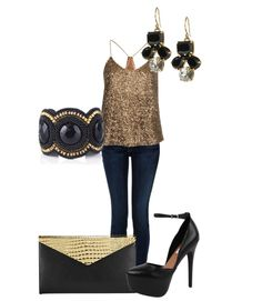 New Years Eve Outfit Idea - Affordable  with <3 from JDzigner www.jdzigner.com