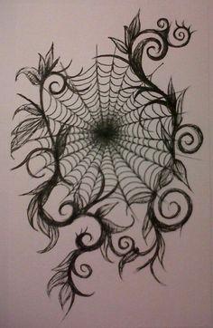 In my web tattoo design