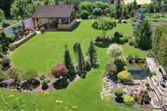 Backyard Garden Landscape, Garden Landscape Design, Terrace Garden, Garden Paths, Acreage Landscaping, Small Front Yard Landscaping, Rock Garden Design, Garden Design Plans, Back Gardens