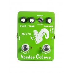 JOYO JF-12 Ultimate Fuzz and Octave Guitar Effect Pedal - Not for the faint hearted! A great 'Hendrix' style Fuzz at a fraction of the price. If that late 60's  fuzz box sound is what you're looking for, then this is the pedal for you! The octave up switch gives you that 'little push over the cliff' for an extra brittle sound. Try it straight into a mixing desk for some real acid fuzz!