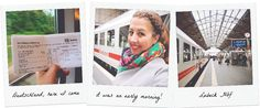 Train travel to Lübeck | via It's Travel O'Clock