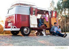 Family shoot in the Oakland Hills with VW Bus • kuperblog • anna kuperbergs photo blog