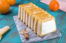 Ww Desserts, Facon, Orange, Biscuits, Charlotte, Cheese, Muffins, No Bake Cake, Sweet Recipes