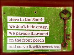 South Quote on Salvaged Board by PatinaSouth on Etsy