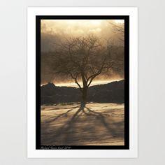 Amber Tree Art Print by Richard Shawn Faust - $14.04