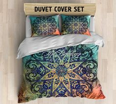 Bohemian bedding Bohemian queen / king / full / twin by ArtBedding