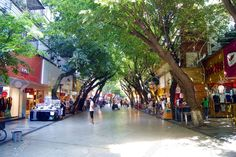 Shenzhen Xixiang Commercial Pedestrian Street Stock Photo, Picture And Royalty Free Image. Pic 14467010.