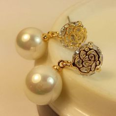 Accessories   pearl drop earrings  pearl drop earrings