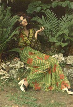 A peek at Celia Birtwell...