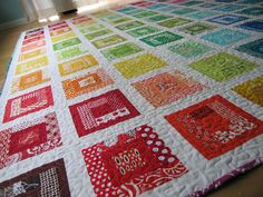 This quilt is giving me a case of the envies.
