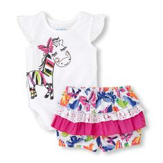 The Childrens Place - A wild 'n crazy-cute outfit for your sweetheart!