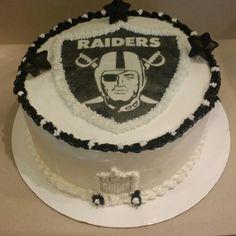Raiders buttercream  cake