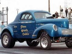 Drag Racing In The Old Days - YouTube
