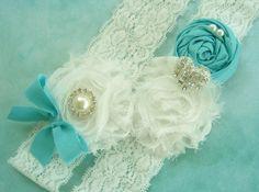 Tiffany Blue and Diamond White