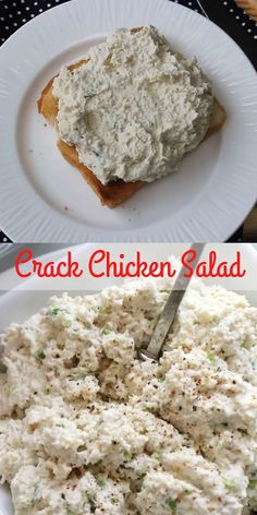 You have never had a chicken salad recipe like this! This loaded chicken salad recipe is one of the best tasting things I have ever eaten. It disappears anytime I made it for a potluck or barbecue and Salad Recipes For Dinner, Healthy Salad Recipes, Lunch Recipes, Cooking Recipes, Healthy Tuna Salad, Wrap Recipes, Healthy Foods, Best Chicken Salad Recipe, Chicken Recipes