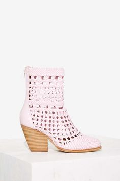 Jeffrey Campbell Nevada Woven Boot | Shop Shoes at Nasty Gal!