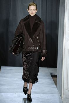 Fall fashion trends to keep in mind when shopping for fall, Shearling Jason Wu Fall/Winter 2014 via @stylelist