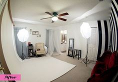 Boudoir Photography Studio Setup