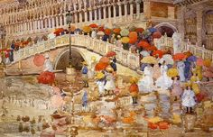 Venice - Maurice Prendergast - 1899 WikiPaintings.org