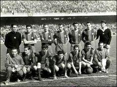 Equipos de fútbol: BARCELONA contra Real Madrid 20/03/1960
