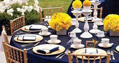 decoração azul marinho dourado branco - Pesquisa Google