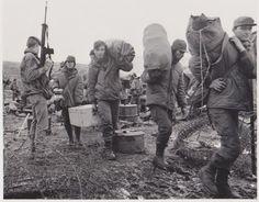 Falklands War Argentinian POW at Ajax Bay #FalklandsWar