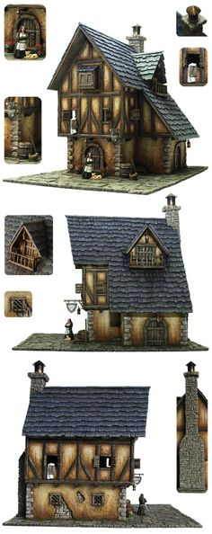 Tabletop World Medieval Inn