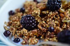 Crunchy Pumpkin Quinoa Cereal