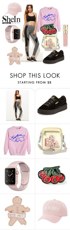 """""""Try ins"""" by golyvegg ❤ liked on Polyvore featuring Puma, Chanel, OBEY Clothing, Charlotte Russe and Smith & Cult"""