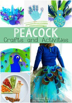 Peacock Crafts and Activities - Easy Peasy and Fun